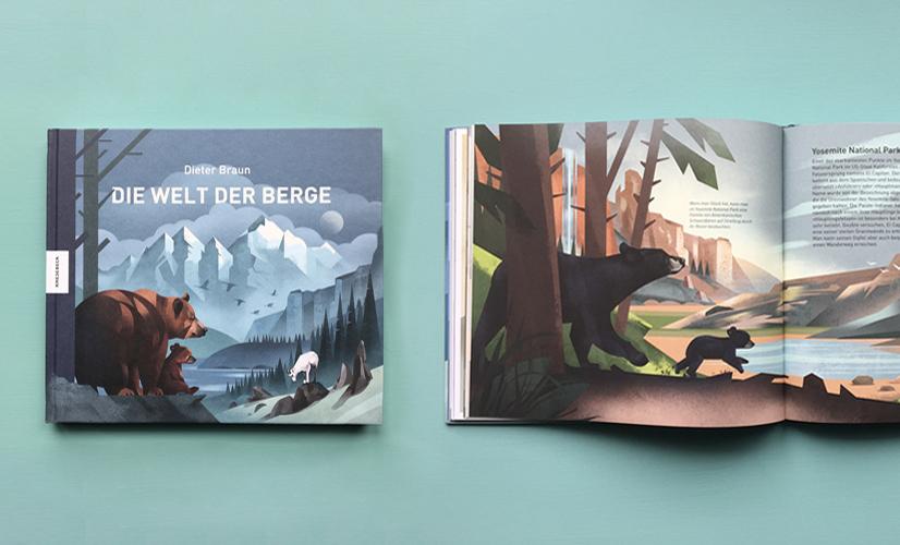 Німецька книжка «Гірський світ» (видавництво Knesebeck Verlag)
