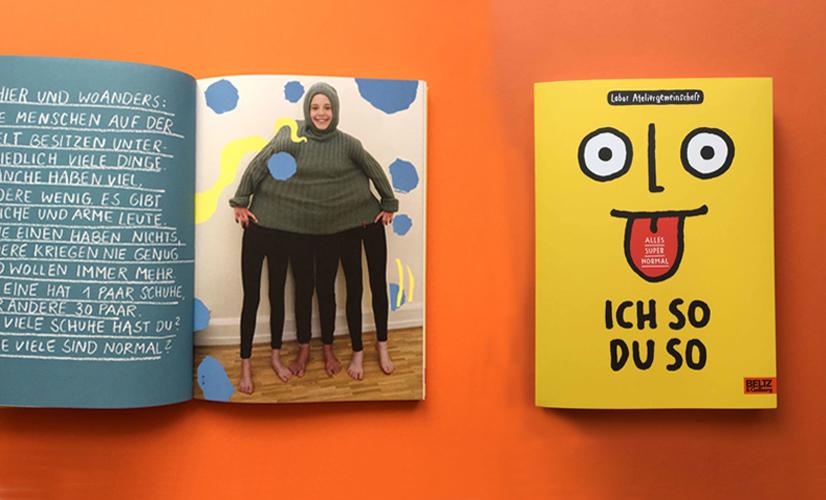 Німецька книжка «Я – так, а ти – інак», видавництво Beltz & Gelberg