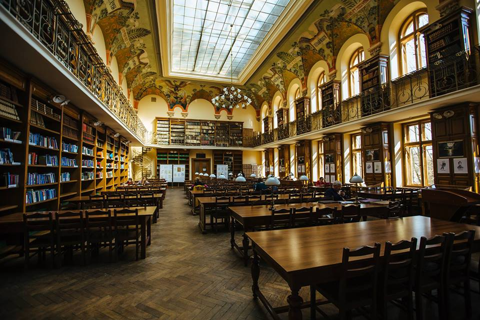 Бібліотечні фонди